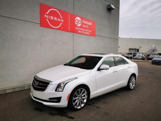 Used 2015 Cadillac ATS Sedan AWD/272HP!!/REMOTE START/BOSE AUDIO for sale in Edmonton, AB