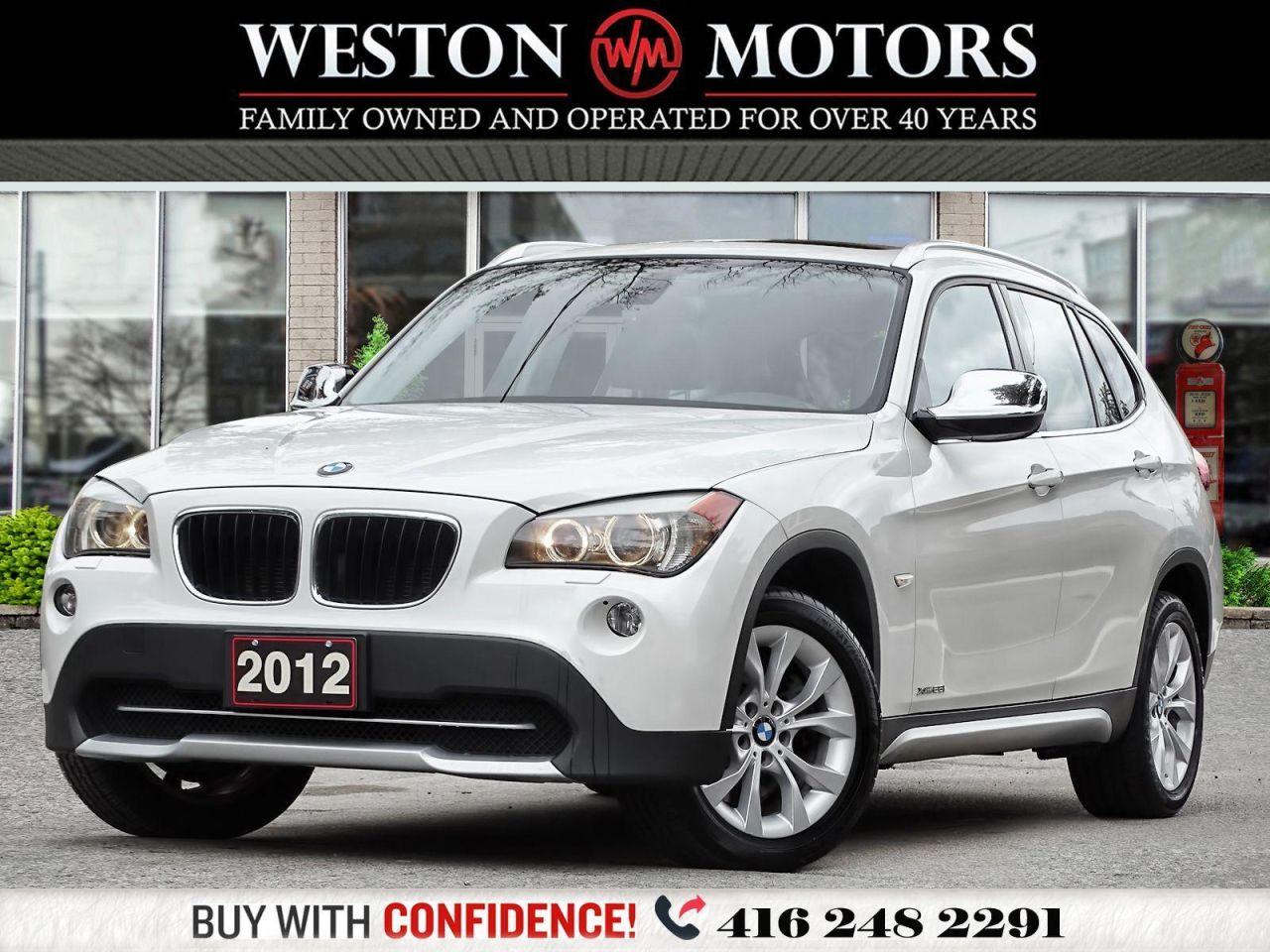 2012 BMW X1 28i*XDRIVE*AWD*PANROOF*LEATHER!!*