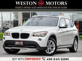 Used 2012 BMW X1 28i*XDRIVE*AWD*PANROOF*LEATHER!!* for sale in Toronto, ON
