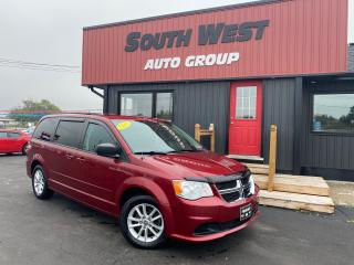 Used 2015 Dodge Grand Caravan SXT|DVD|RearClimate|Alloys|Backup Cam|StowNGo for sale in London, ON