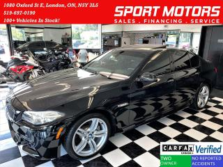 Used 2016 BMW 5 Series 528i xDrive M PKG+Camera+GPS+Xenons+CLEAN CARFAX for sale in London, ON