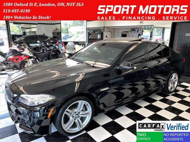 2016 BMW 5 Series 528i xDrive M PKG+Camera+GPS+Xenons+CLEAN CARFAX