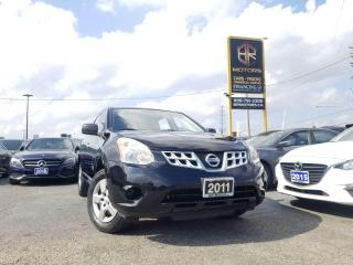 Used 2011 Nissan Rogue Rogue | FWD | S | Reverse Sensor | Certified for sale in Brampton, ON