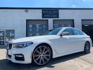 Used 2018 BMW 5 Series 540i xDrive M-Sport/ One Owner Clean Carfax for sale in Guelph, ON