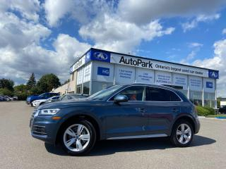 Used 2018 Audi Q5 2.0T Technik PANORAMIC ROOF | NAV | HEATED SEATS | LEATHER SEATS | for sale in Brampton, ON