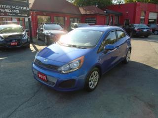 Used 2015 Kia Rio LX/ A/C / BLUETOOTH / FUEL SAVER / CLEAN / for sale in Scarborough, ON