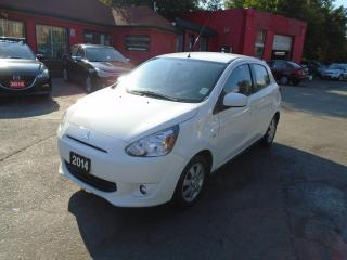 Used 2014 Mitsubishi Mirage SE/ POWER WINDOWS AND LOCKS / A/C / SUPER LOW KM / for sale in Scarborough, ON