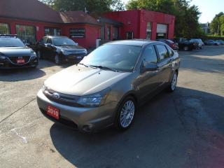 Used 2010 Ford Focus SES / POWER WINDOWS AND LOCK / FUEL SAVER / LOW KM for sale in Scarborough, ON