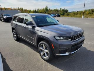 New 2021 Jeep Grand Cherokee L Limited for sale in Huntsville, ON