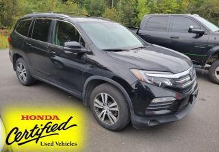 Used 2017 Honda Pilot EX LOCAL TRADE | AWD | SUNROOF | HEATED SEATS | 8-PASSENGER | RADAR CRUISE | LANE-KEEPING for sale in Huntsville, ON