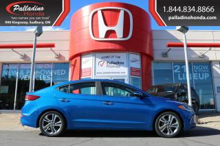 Used 2017 Hyundai Elantra Limited - ALL NEW BRAKES - for sale in Sudbury, ON