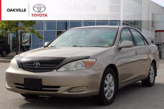 Used 2003 Toyota Camry XLE with Power Moonroof and Driver Seat | SELF CERTIFY for sale in Oakville, ON