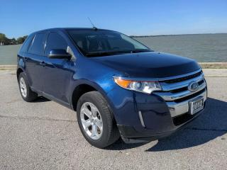 Used 2012 Ford Edge SEL AWD Heated Leather Moon Roof Bluetooth for sale in Belle River, ON