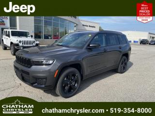 New 2021 Jeep Grand Cherokee L Laredo for sale in Chatham, ON