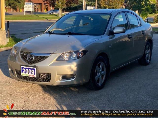 2009 Mazda MAZDA3 GX|ONE OWNER|LOW KM|WARRANTY|CERTIFIED