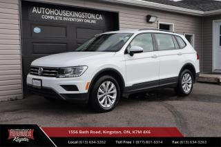 Used 2020 Volkswagen Tiguan Trendline BACK UP CAM - HEATED SEATS - APPLE & ANDROID AUTO for sale in Kingston, ON