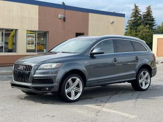 Used 2012 Audi Q7 3.0L Sport Navigation/Panoramic Sunroof/Camera for sale in North York, ON