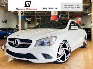 Used 2014 Mercedes-Benz CLA-Class CLA 250 |NAVI |PANO |CAM |BLIND SPOT |LED |4MATIC for sale in North York, ON