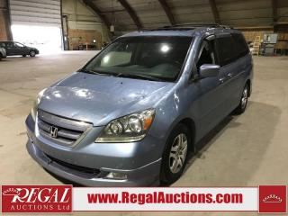 Used 2007 Honda Odyssey Touring 4D Wagon FWD for sale in Calgary, AB