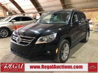 Used 2009 Volkswagen Tiguan 4D Utility 4WD for sale in Calgary, AB