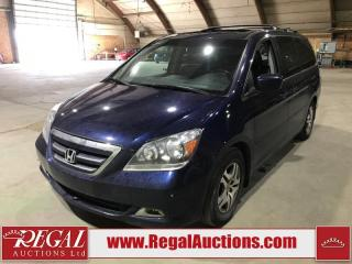 Used 2006 Honda Odyssey Touring 4D Wagon FWD for sale in Calgary, AB