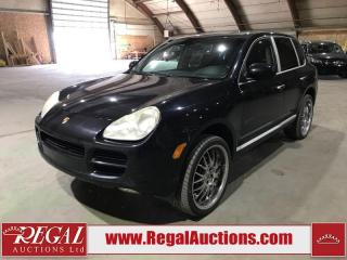 Used 2006 Porsche Cayenne 955 4D UTILITY 4WD for sale in Calgary, AB
