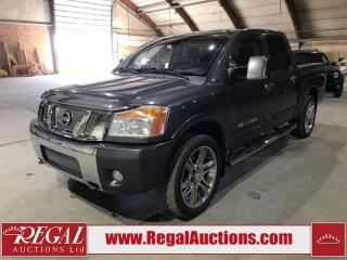 Used 2008 Nissan Titan LE 4D Crew CAB 4WD for sale in Calgary, AB