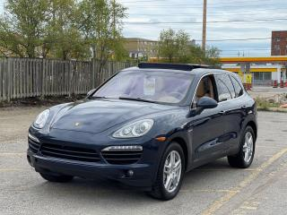 Used 2011 Porsche Cayenne S Hybrid Sunroof /Blind Spot/Leather for sale in North York, ON