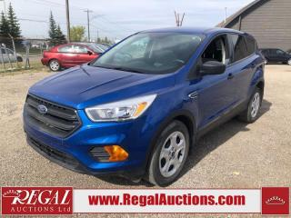 Used 2017 Ford Escape S 4D Utility FWD for sale in Calgary, AB