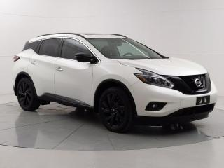 Used 2018 Nissan Murano Midnight Edition for sale in Winnipeg, MB