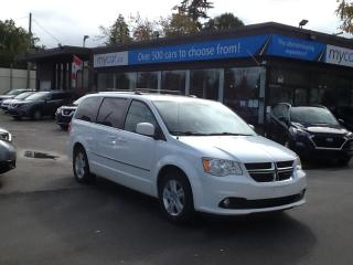 Used 2017 Dodge Grand Caravan Crew ALLOYS. A/C. POWER GROUP. for sale in North Bay, ON