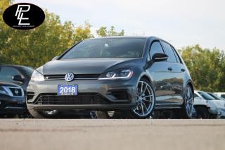 Used 2018 Volkswagen Golf R 2.0 TSI LEATHER||NAVI||CERTIFIED||MANUAL!! for sale in Bolton, ON
