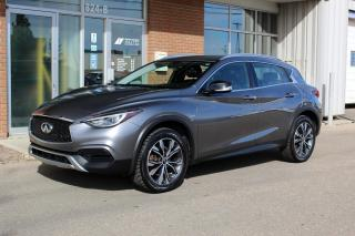 Used 2017 Infiniti QX30 AWD - ACCIDENT FREE - LOW KM for sale in Saskatoon, SK