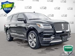 Used 2018 Lincoln Navigator Reserve LOCAL TRADE   ONE OWNER   RECENT ARRIVAL   RESERVE   LUXURY   3RD ROW   for sale in Sault Ste. Marie, ON