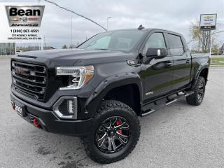 New 2021 GMC Sierra 1500 6.2L V8 AT4 CREW CAB SHORT BOX WITH BLACK WIDOW KIT for sale in Carleton Place, ON