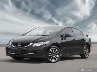 Used 2015 Honda Civic Sedan EX | HTD STS | SUNROOF | ALLOYS | KEYLESS | CAMERA for sale in Milton, ON