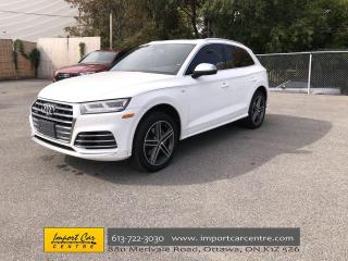 Used 2018 Audi SQ5 3.0T Technik LEATHER  PANO ROOF  NAVI  BLIS  B&O S for sale in Ottawa, ON
