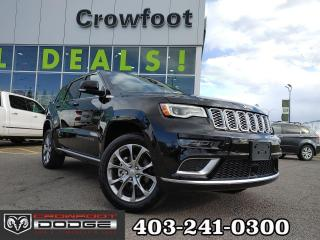 Used 2020 Jeep Grand Cherokee SUMMIT WITH REAR DVD 4X4 for sale in Calgary, AB