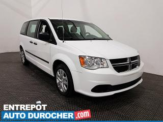 Used 2015 Dodge Grand Caravan Canada Value Package 8 passagers - Climatiseur for sale in Laval, QC