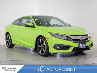 Used 2017 Honda Civic COUPE Touring, Navi, Back Up Cam, Sunroof, New Tires! for sale in Brampton, ON