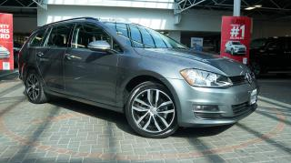 Used 2016 Volkswagen Golf Sportwagen HIGHLINE / LOW KM / LOCAL / ONE OWNER! for sale in Vancouver, BC