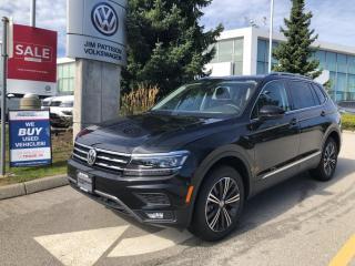 New 2021 Volkswagen Tiguan SEL Premium R-Line for sale in Surrey, BC
