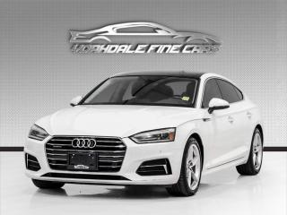 Used 2018 Audi A5 2.0 TFSI quattro Komfort S tronic. Nav. Sunroof. Loaded! for sale in Concord, ON