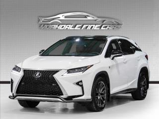 Used 2016 Lexus RX 350 F Sport 3. NAVIGATION. CAMERA. PANO ROOF. RED INT. LOADED. for sale in Concord, ON