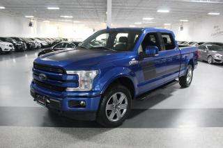 Used 2018 Ford F-150 LARIAT SUPERCREW SPORT I NAVIGATION I LEATHER I PANOROOF BT for sale in Mississauga, ON