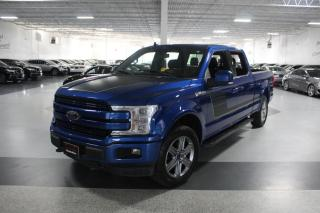 Used 2018 Ford F-150 LARIAT SUPERCREW SPORT NO ACCIDENTS I NAVIGATION I LEATHER for sale in Mississauga, ON