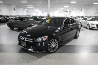 Used 2017 Mercedes-Benz C-Class C300 4MATIC I AMG I NAVIGATION I PANOROOF I REAR CAMERA I BT for sale in Mississauga, ON