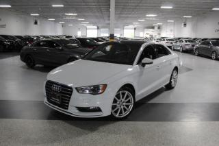 Used 2015 Audi A3 NO ACCIDENTS I LEATHER I SUNROOF I HEATED SEATS I BLUETOOTH for sale in Mississauga, ON