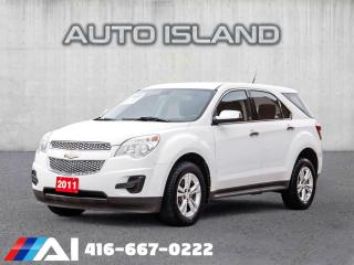 Used 2011 Chevrolet Equinox LS**ALL WHEEL DRIVE** for sale in North York, ON