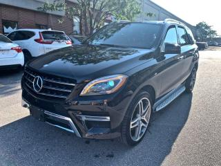 Used 2014 Mercedes-Benz ML-Class 4MATIC 4dr ML550, DISTRONIC, NO ACCIDENT for sale in North York, ON